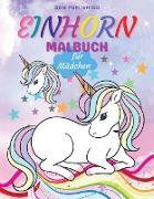 Einhorn Malbuch für Mädchen