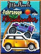 Fahrzeuge Malbuch für Kleinkinder