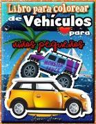 Libro para Colorear de Vehículos para Niños Pequeños