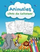 Animales Libro de Colorear