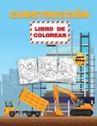 Construcción Libro de Colorear para Niños