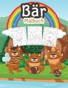 Bär Malbuch für Kinder