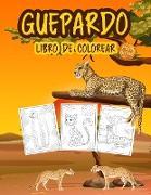 Guepardo Libro de Colorear para Niños