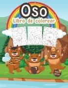 Oso Libro de Colorear para Niños