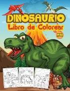 Dinosaurios Libro de Colorear para Niños