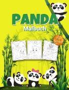 Panda Malbuch für Kinder