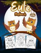 Eule Malbuch Für Kinder