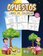 Opuestos Libro de Colorear para Niños