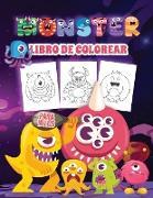 Monster Libro de Colorear para Niños
