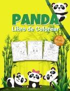 Panda Libro de Colorear para Niños