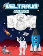 Weltraum Malbuch