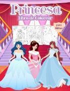 Princesa Libro de Colorear para niñas