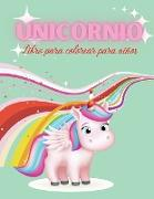 Unicornio Libro para colorear para niños