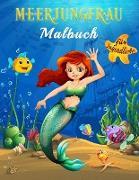 Meerjungfrau Malbuch für Jugendliche