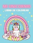 Mi Unicornio Libro de Colorear