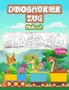 Dinosaurier Zug Malbuch Für Kinder
