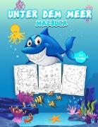 Unter dem Meer Malbuch für Kinder
