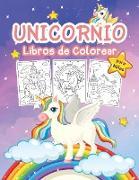 Unicornio Libro de Colorear para Niñas