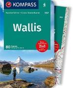 KOMPASS Wanderführer Wallis, Oberwallis