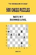 500 Chess Puzzles, Mate in 1, Beginner Level