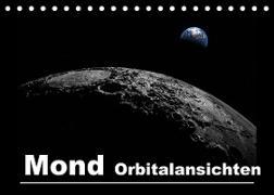 Mond Orbitalansichten (Tischkalender 2022 DIN A5 quer)