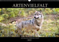 ARTENVIELFALT aus dem Bayerischen Wald (Wandkalender 2022 DIN A3 quer)