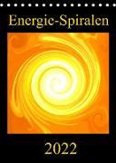 Energie-Spiralen 2022 (Tischkalender 2022 DIN A5 hoch)