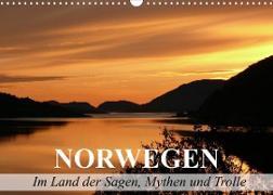 Norwegen - Im Land der Sagen, Mythen und Trolle (Wandkalender 2022 DIN A3 quer)