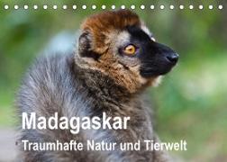 Madagaskar. Traumhafte Natur und Tierwelt (Tischkalender 2022 DIN A5 quer)