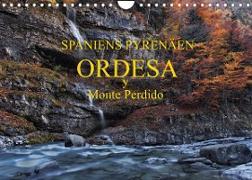 Spaniens Pyrenäen - Ordesa y Monte Perdido (Wandkalender 2022 DIN A4 quer)