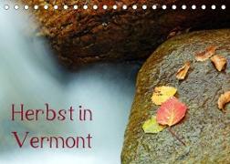 Herbst in Vermont (Tischkalender 2022 DIN A5 quer)
