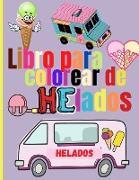 Libro para Colorear de Helados