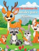 Libro de Colorear de Animales para Niños