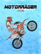 Motorräder Malbuch