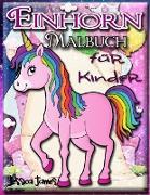 Einhorn-Malbuch für Kinder