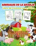 Animales de Granja Libro de Colorear para Niños