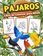 Pájaros Libro de Colorear para Niños