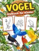 Vögel-Malbuch für Kinder
