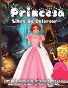 Princesa Libro De Colorear