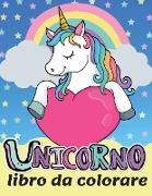 Unicorno - Libro da colorare