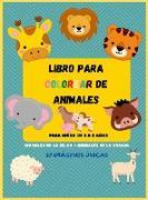 Libro Para Colorear De Animales
