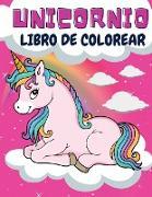 Unicornio Libro de colorear