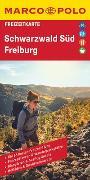 MARCO POLO Freizeitkarte Schwarzwald Süd, Freiburg 1:100 000