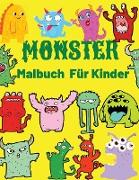 Monster Malbuch Fur Kinder
