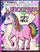 Libro para Colorear Unicornios para Niños