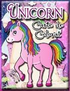 Unicorn carte de colorat pentru copii