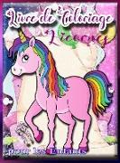 Livre de coloriage de licornes pour les enfants
