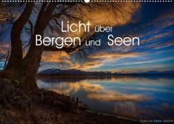 Licht über Bergen und Seen (Wandkalender 2022 DIN A2 quer)
