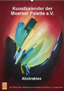 Kunstkalender der Moerser Palette e.V. - Abstraktes (Wandkalender 2022 DIN A2 hoch)