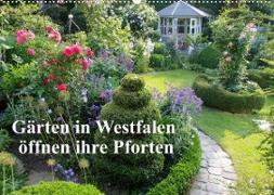 Gärten in Westfalen öffnen ihre Pforten (Wandkalender 2022 DIN A2 quer)